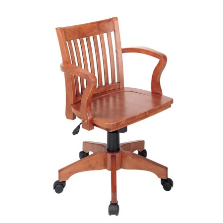 Wooden Office Chairs With Casters